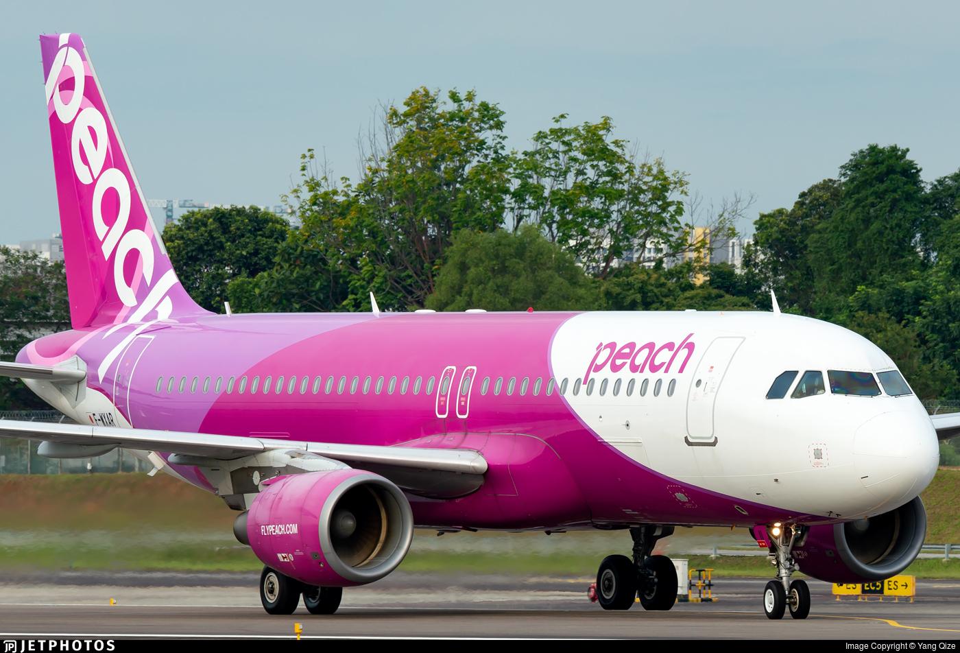 F-WXAR - Airbus A320-214 - Peach Aviation