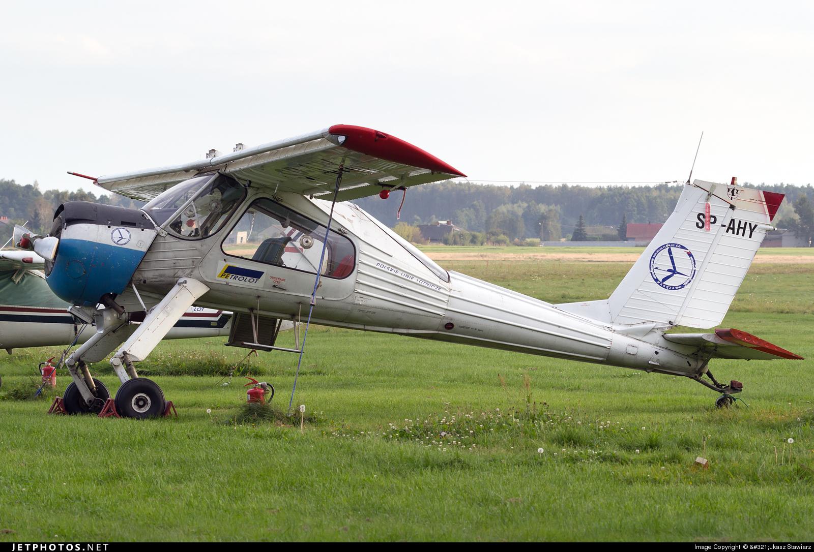 SP-AHY - PZL-Okecie 104 Wilga 35 - Private