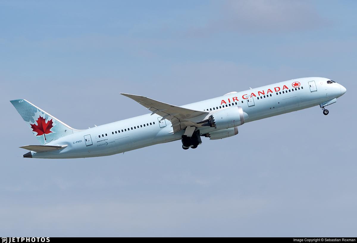 C-FNOI - Boeing 787-9 Dreamliner - Air Canada