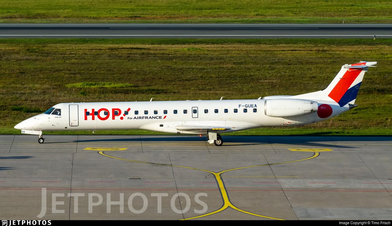 F-GUEA - Embraer ERJ-145MP - HOP! for Air France