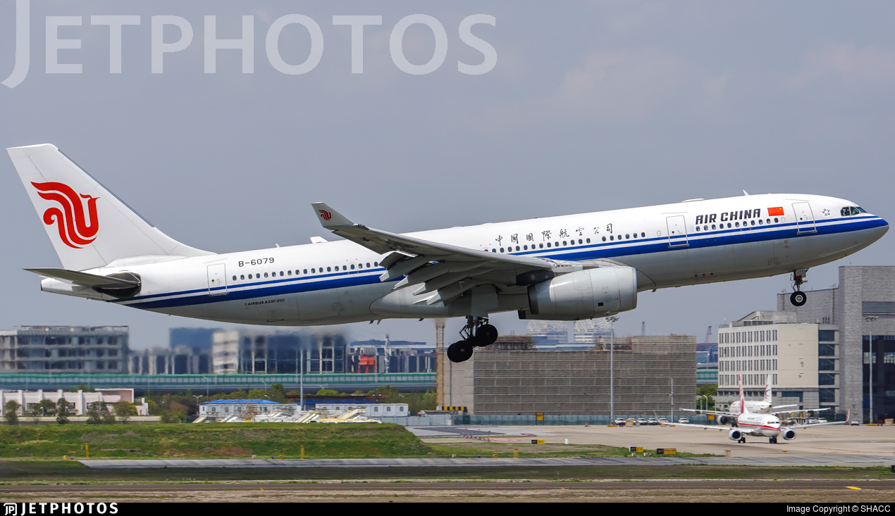 B-6079 - Airbus A330-243 - Air China