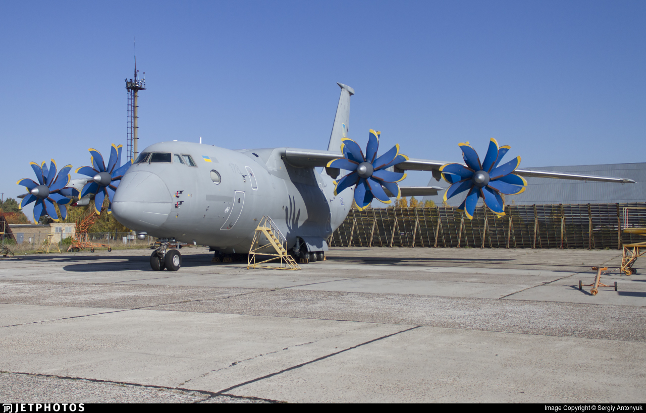02 - Antonov An-70 - Ukraine - Air Force