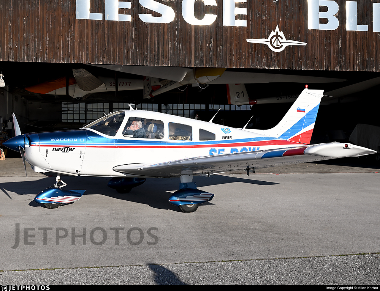 S5-DCW - Piper PA-28-161 Cherokee Warrior II - Private