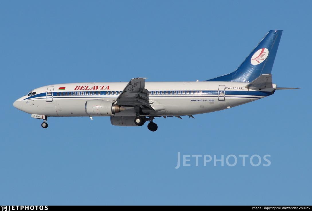 EW-404PA - Boeing 737-3L9 - Belavia Belarusian Airlines