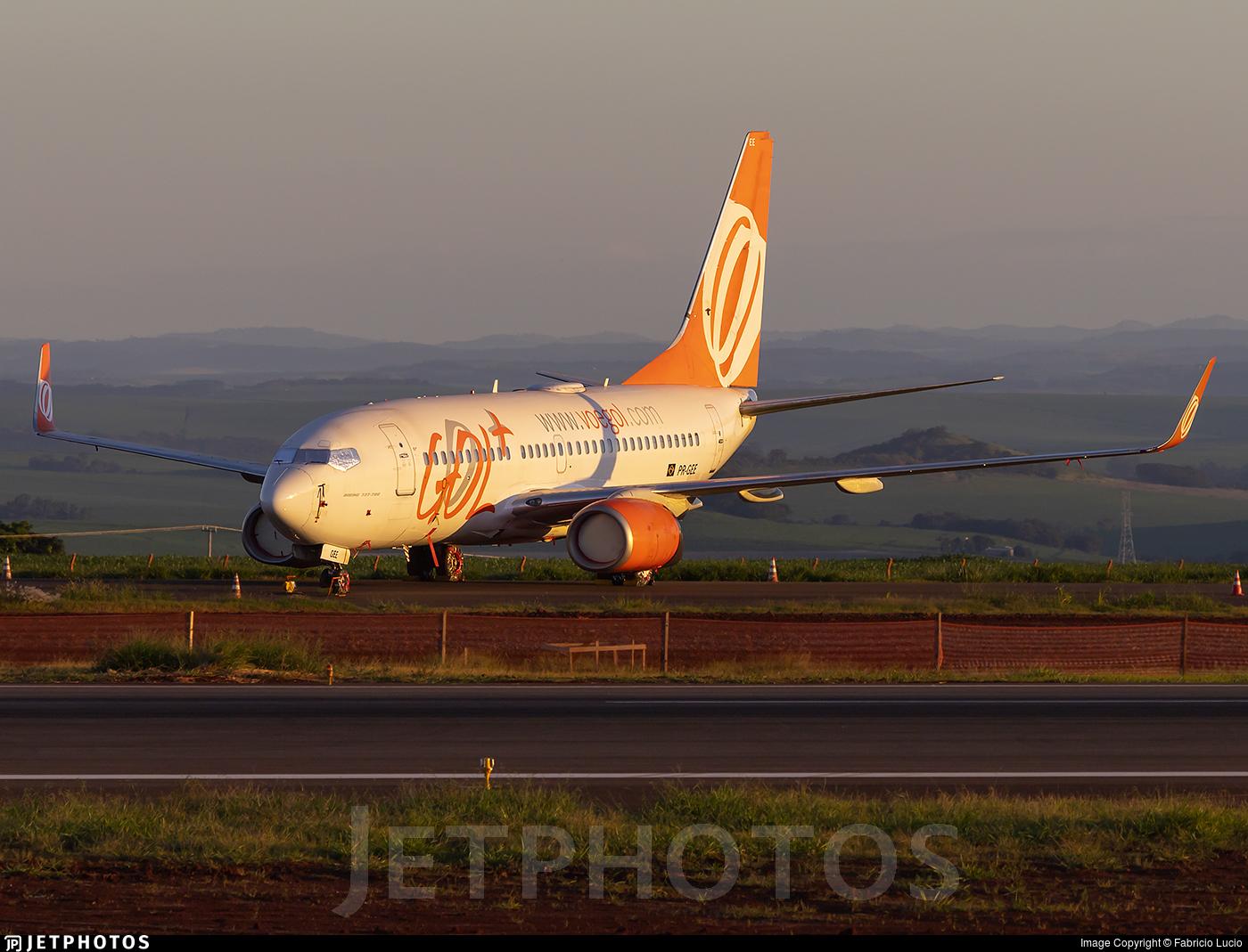PR-GEE - Boeing 737-73V - GOL Linhas Aéreas