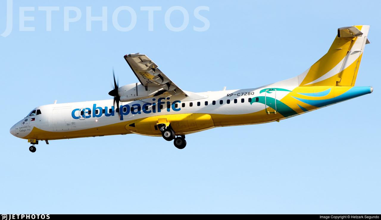 RP-C7280 - ATR 72-212A(600) - Cebu Pacific Air