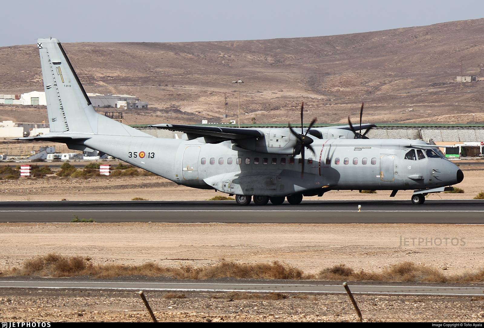 T.21-13 - CASA C-295M - Spain - Air Force