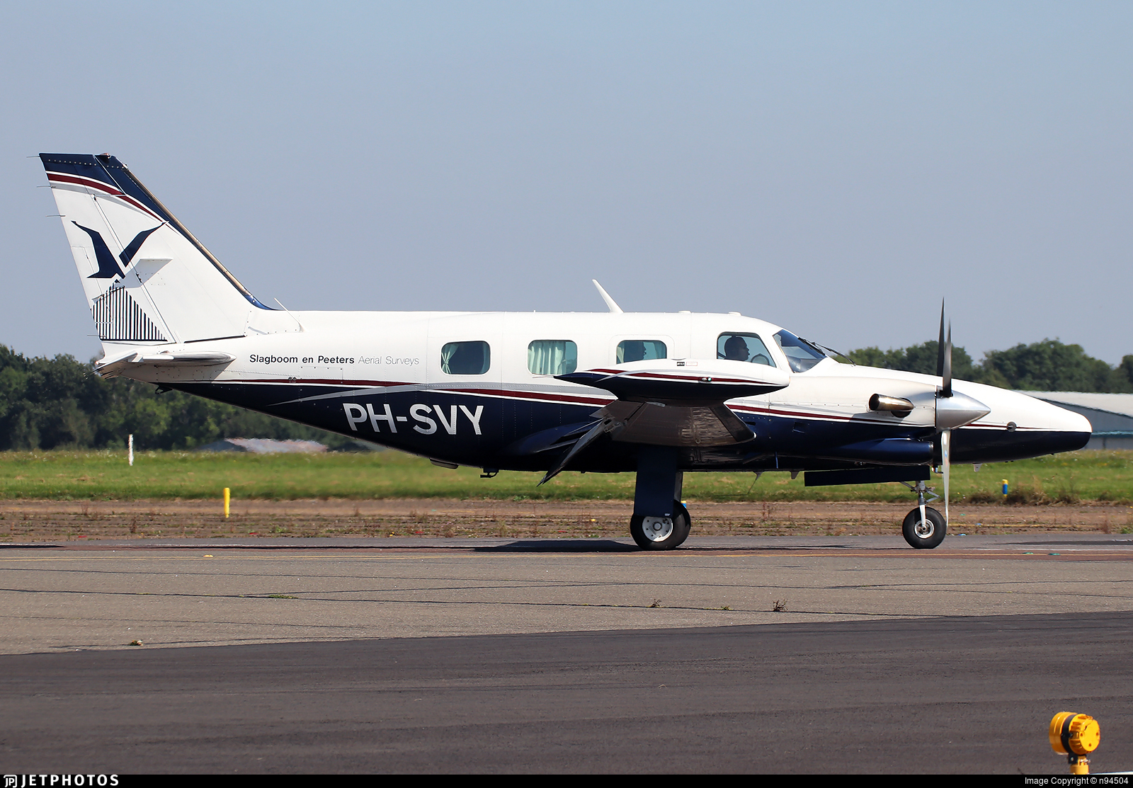 PH-SVY - Piper PA-31T Cheyenne II - Slagboom & Peeters Aerial Photography