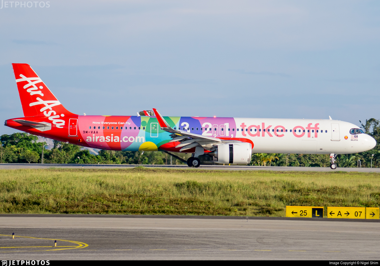 9M-VAA - Airbus A321-251NX - AirAsia