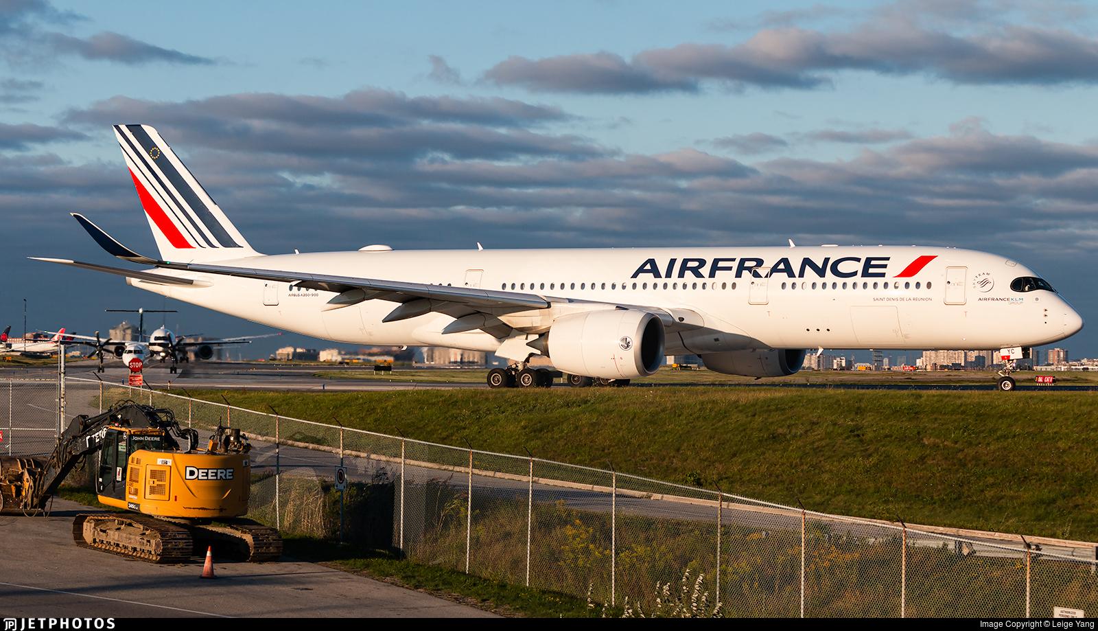 F-HTYC - Airbus A350-941 - Air France