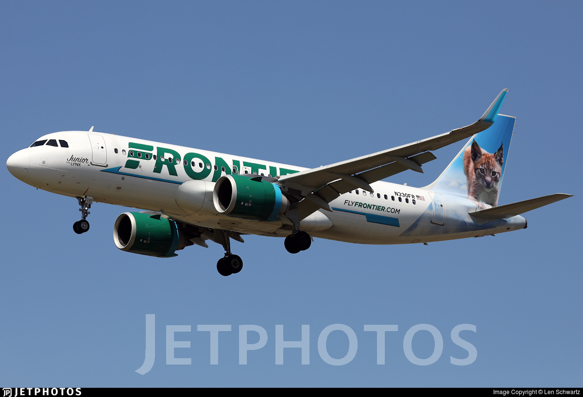N330FR - Airbus A320-251N - Frontier Airlines