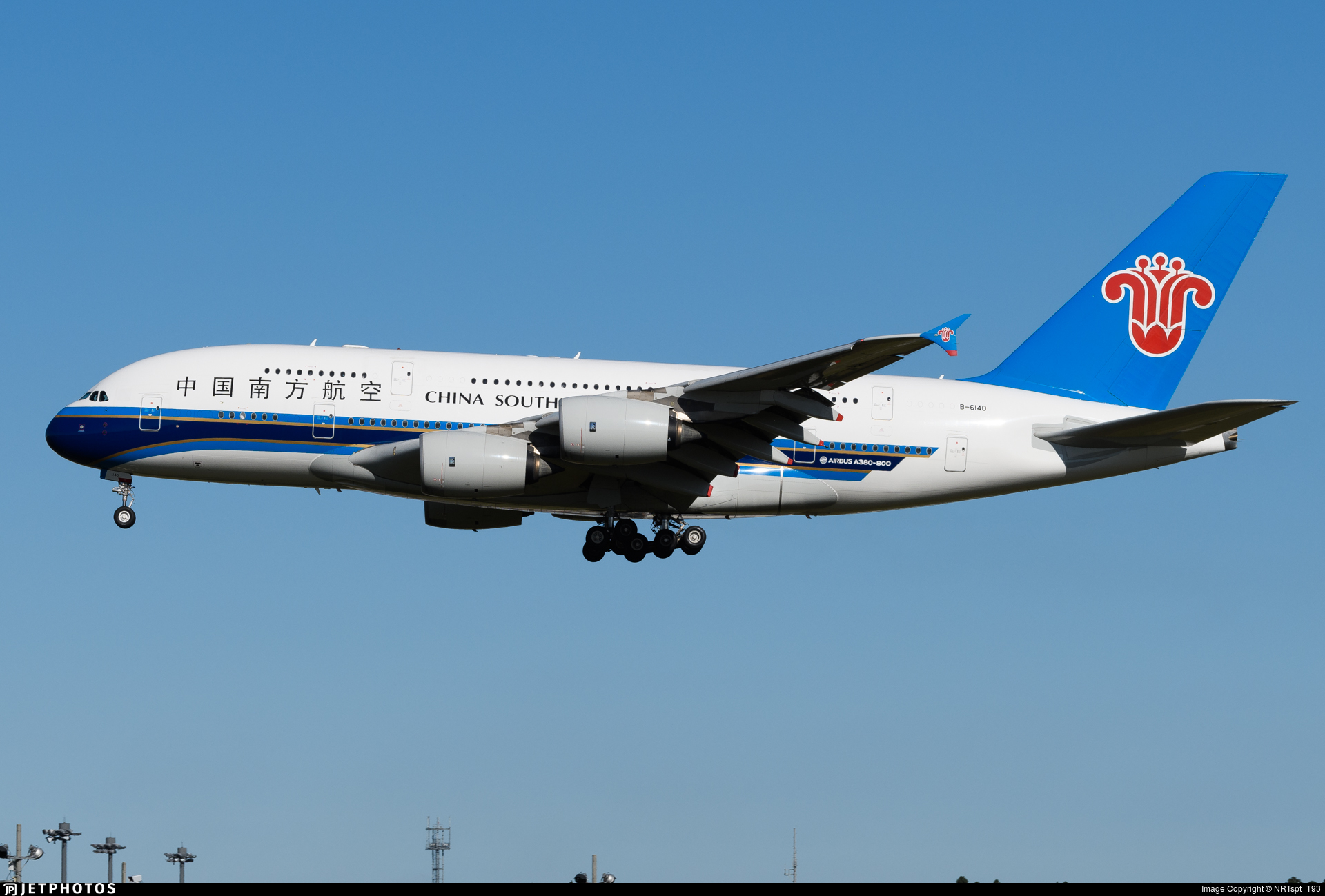 B-6140 - Airbus A380-841 - China Southern Airlines