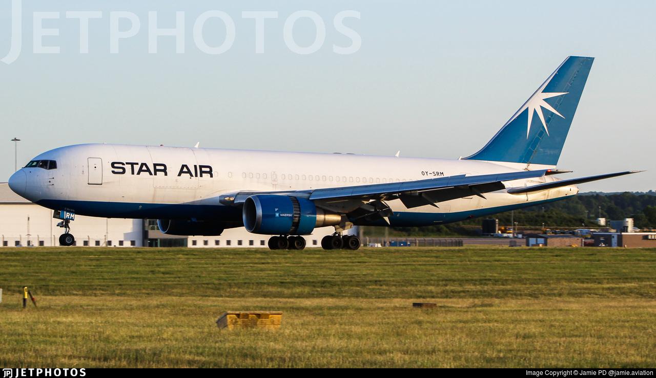 OY-SRM - Boeing 767-25E(BDSF) - Star Air
