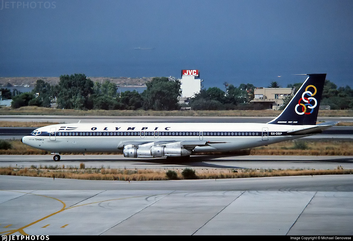 SX-DBP - Boeing 707-351C - Olympic Airways