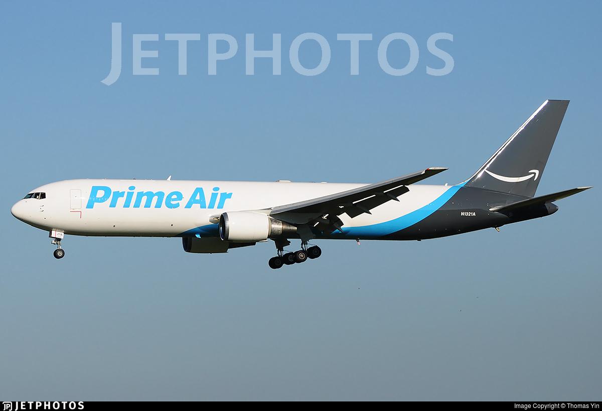 N1321A - Boeing 767-306(ER)(BCF) - Amazon Prime Air (Atlas Air)