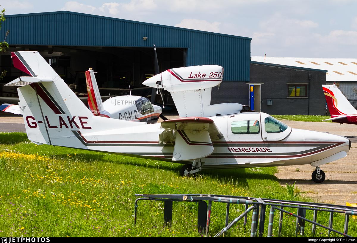 G-LAKE - Lake LA-4-200 Buccaneer - Private