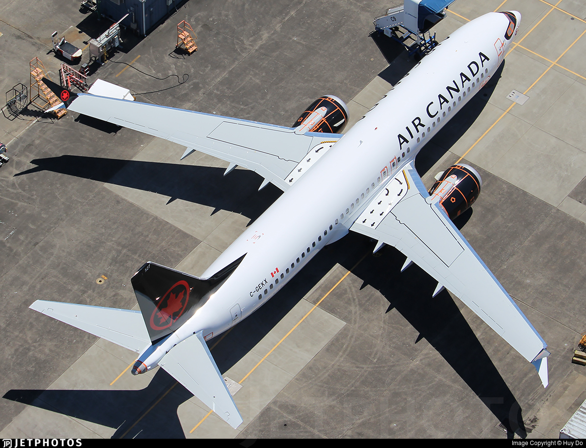 C-GEKX - Boeing 737-8 MAX - Air Canada