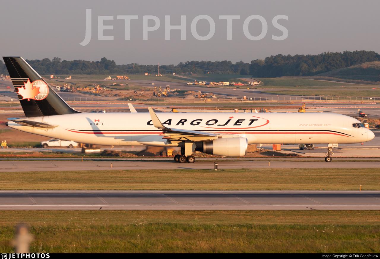 C-GCJT - Boeing 757-223(PCF) - Cargojet Airways