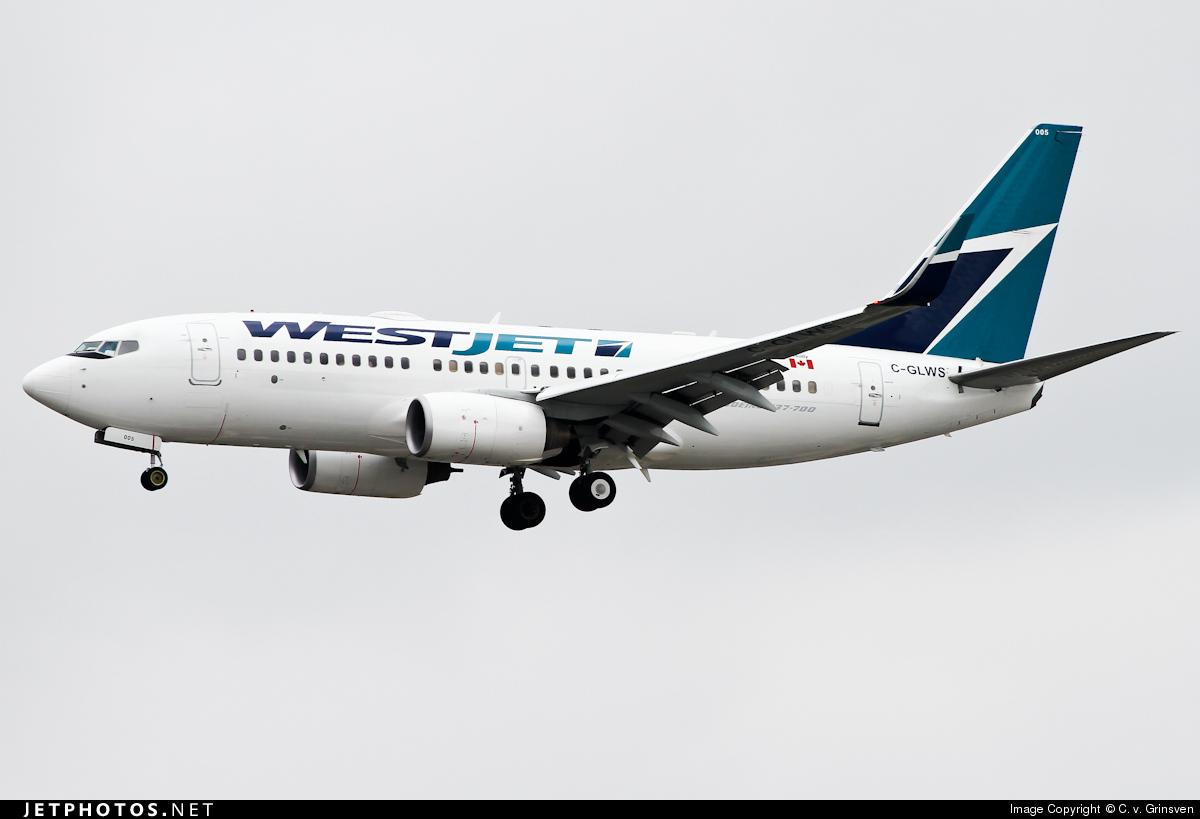 C-GLWS - Boeing 737-76N - WestJet Airlines