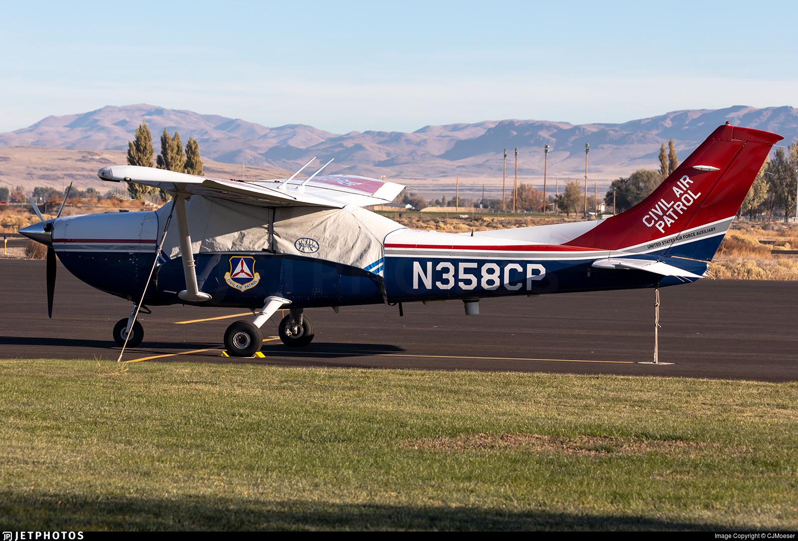 N358CP - Cessna 182T Skylane - United States - US Air Force Civil Air Patrol