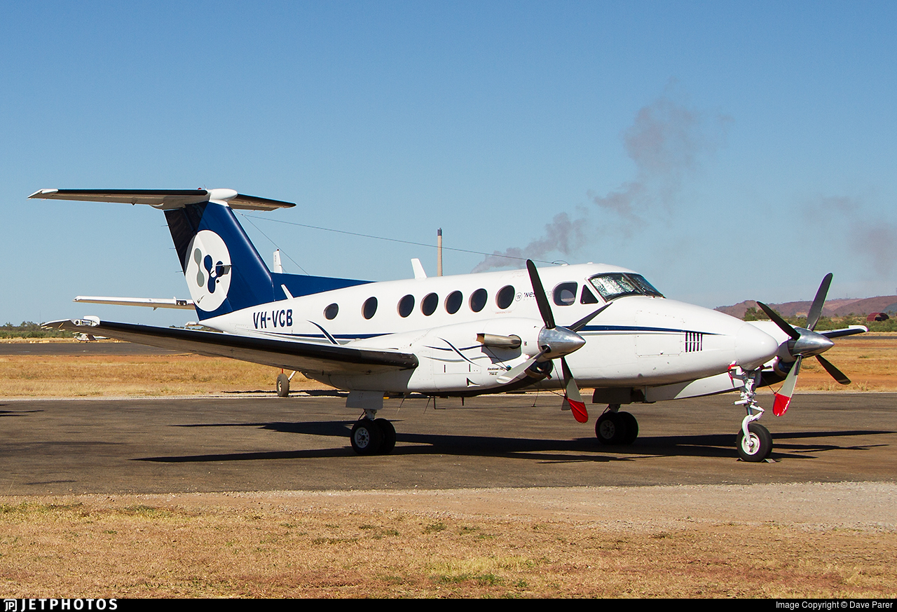 VH-VCB - Beechcraft 200 Super King Air - West Wing Aviation