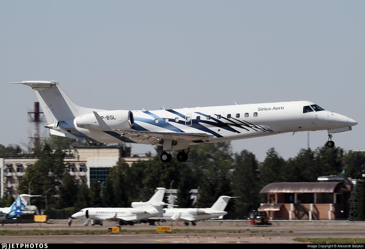 VP-BGL - Embraer ERJ-135BJ Legacy 600 - Sirius Aero