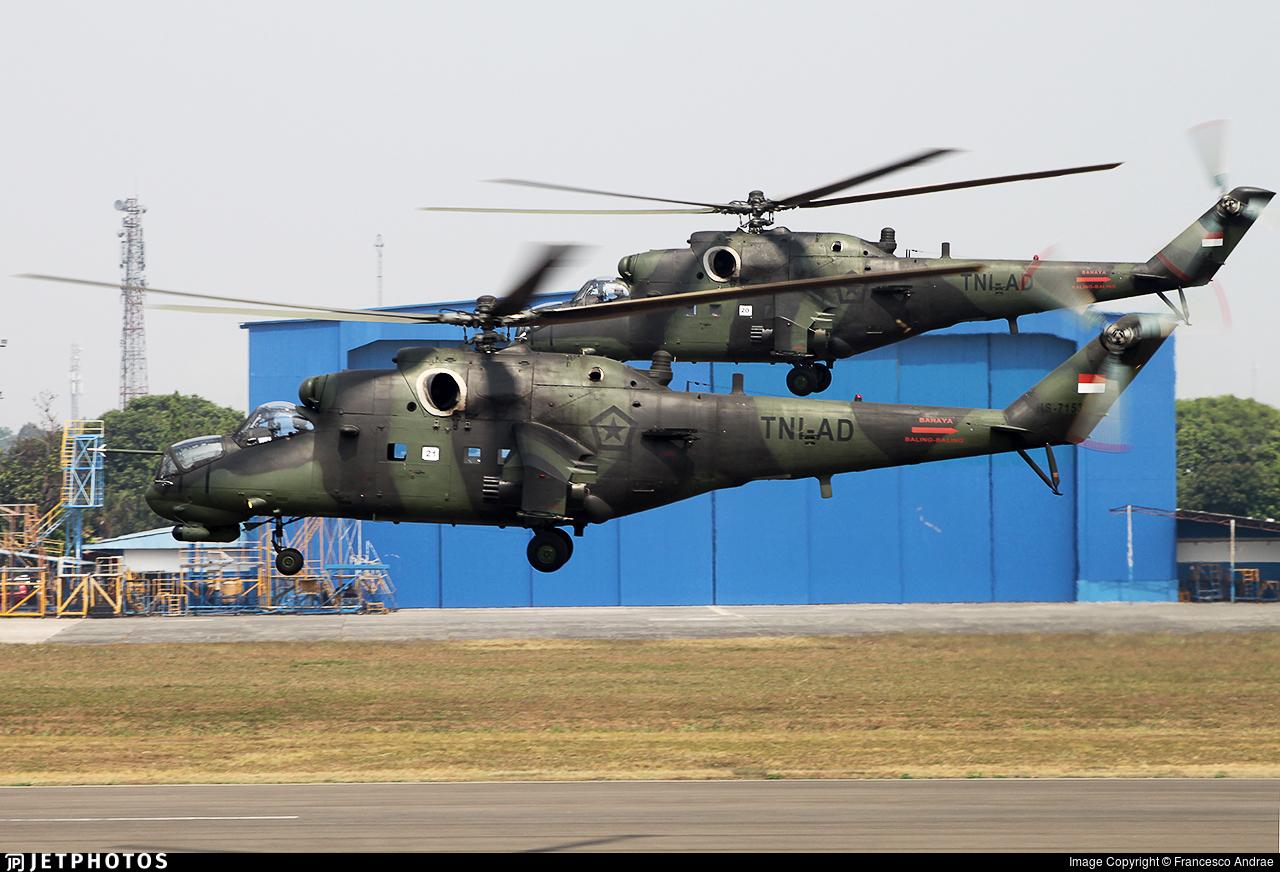 HS-7153 - Mil Mi-35P Hind - Indonesia - Army