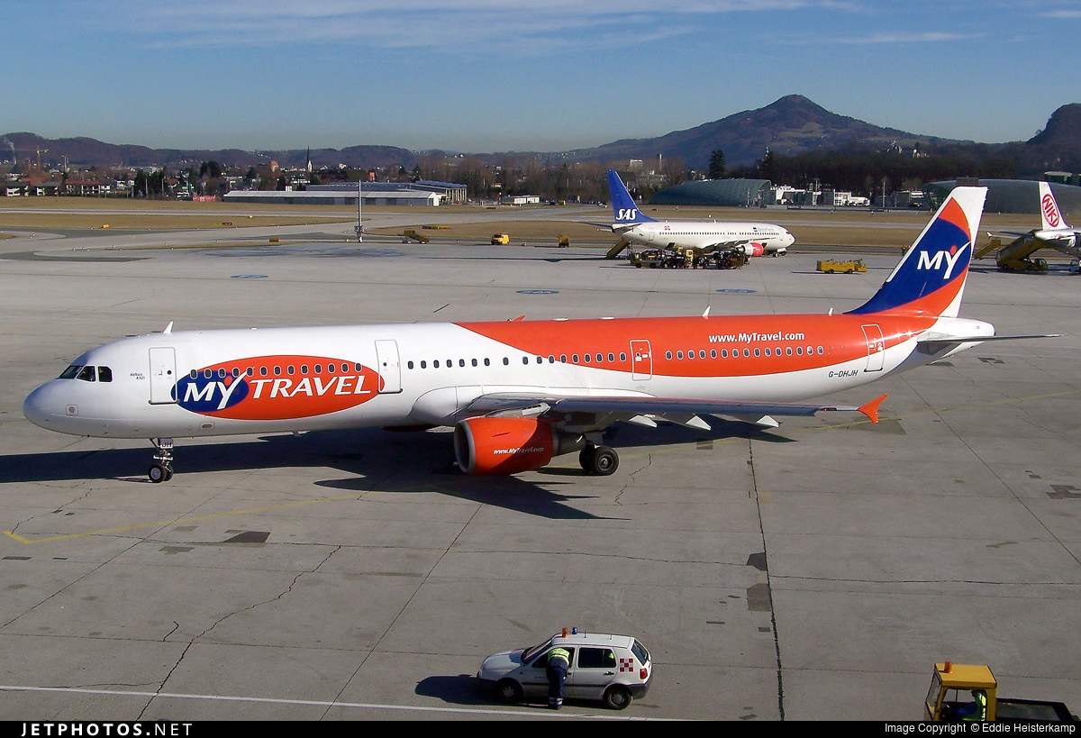 G-DHJH - Airbus A321-211 - MyTravel Airways