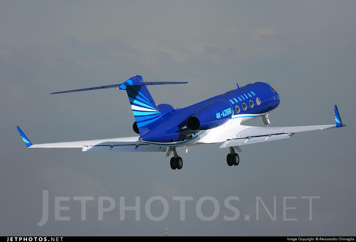 4K-AZ888 - Gulfstream G450 - SW Business Aviation