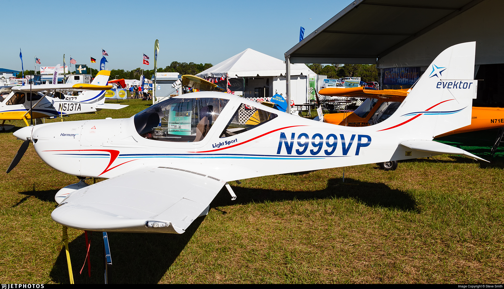 N999VP - Evektor-Aerotechnik Harmony LSA - Private