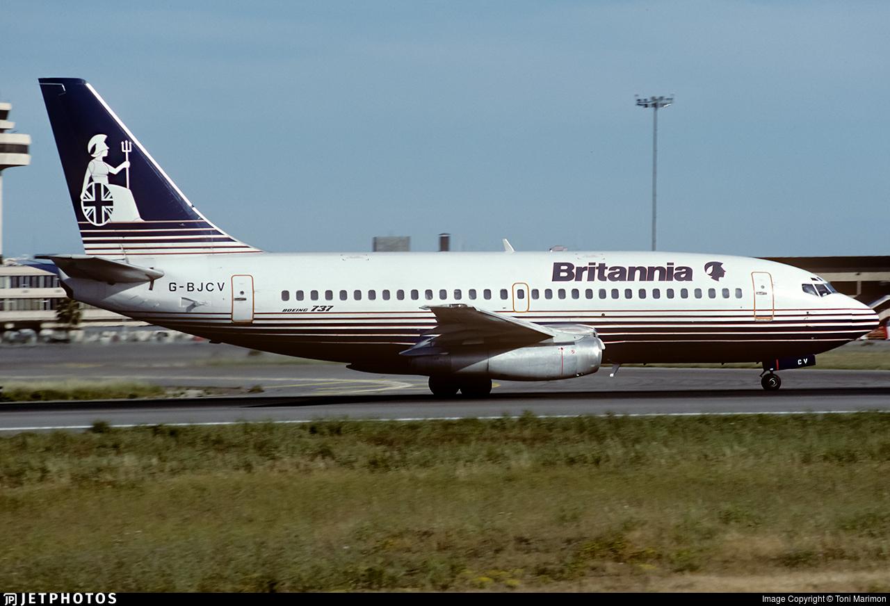 G-BJCV - Boeing 737-204(Adv) - Britannia Airways