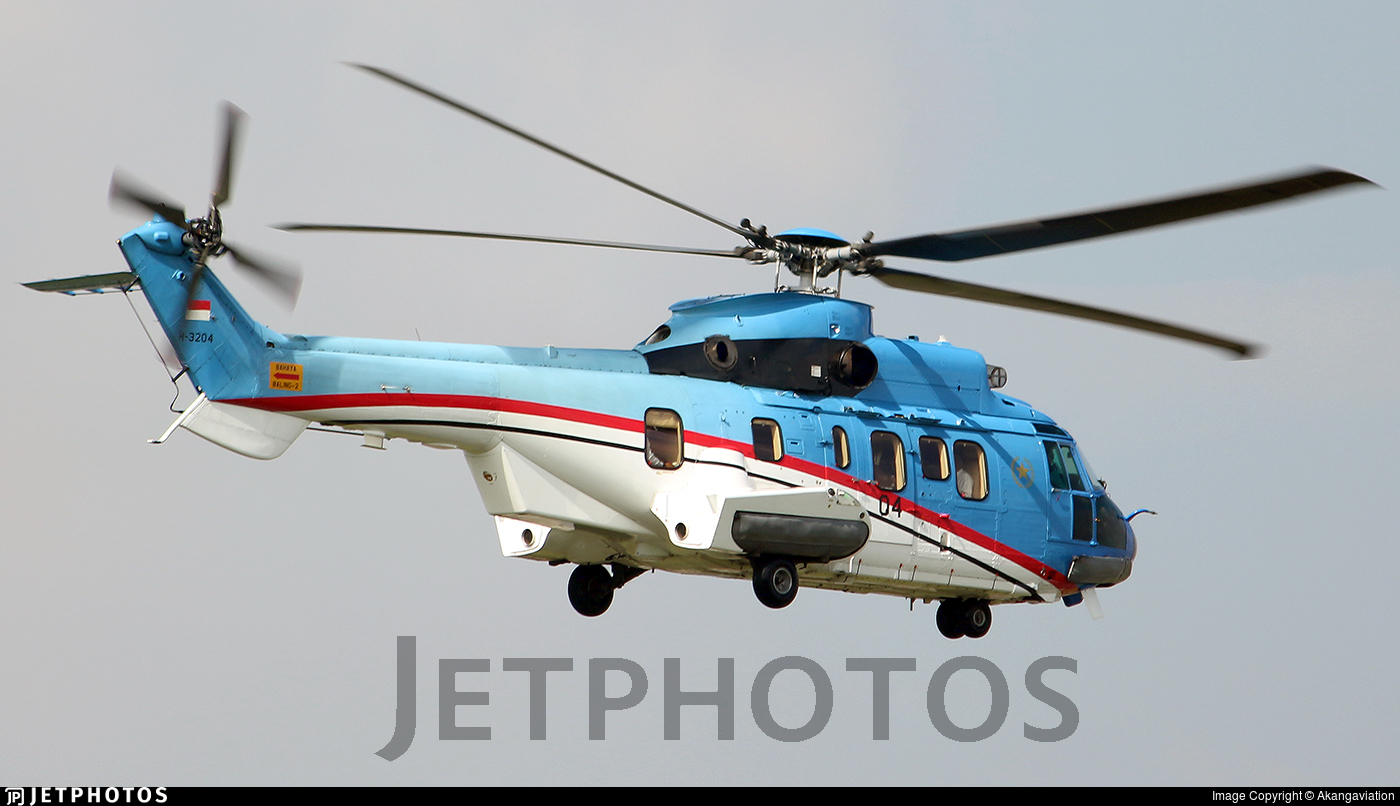 H-3204 - Eurocopter AS 332L Super Puma - Indonesia - Air Force
