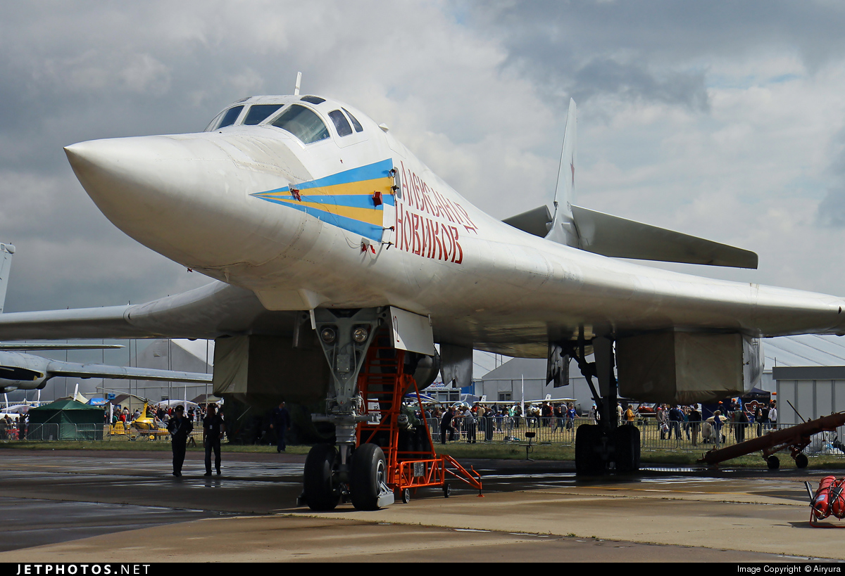 RF-94109 - Tupolev Tu-160 Blackjack - Russia - Air Force