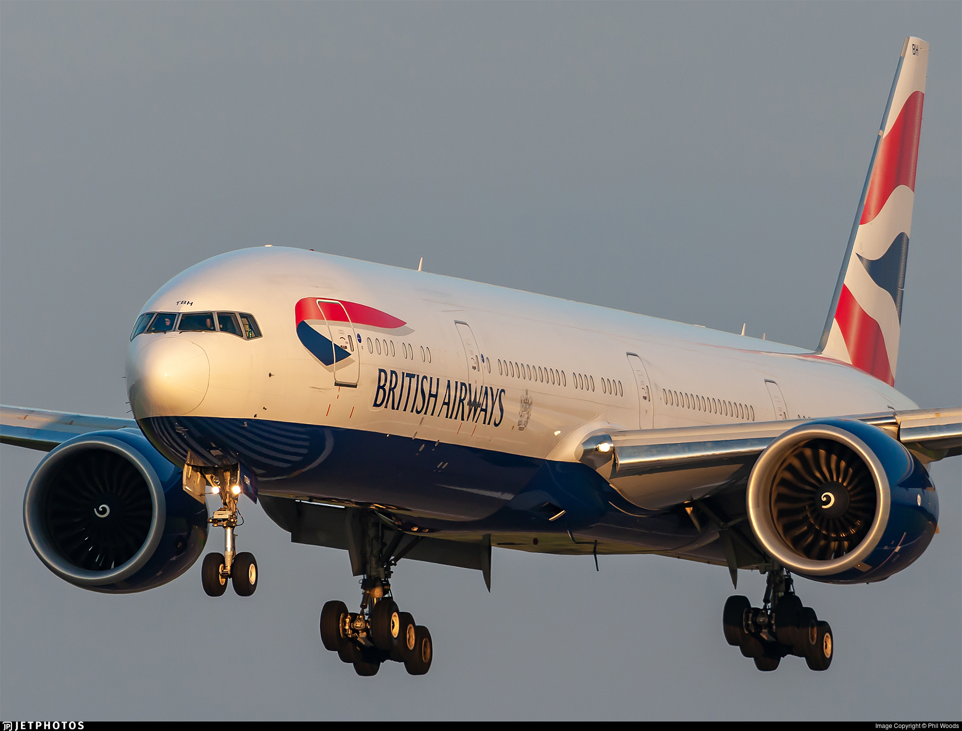 G-STBH - Boeing 777-336ER - British Airways
