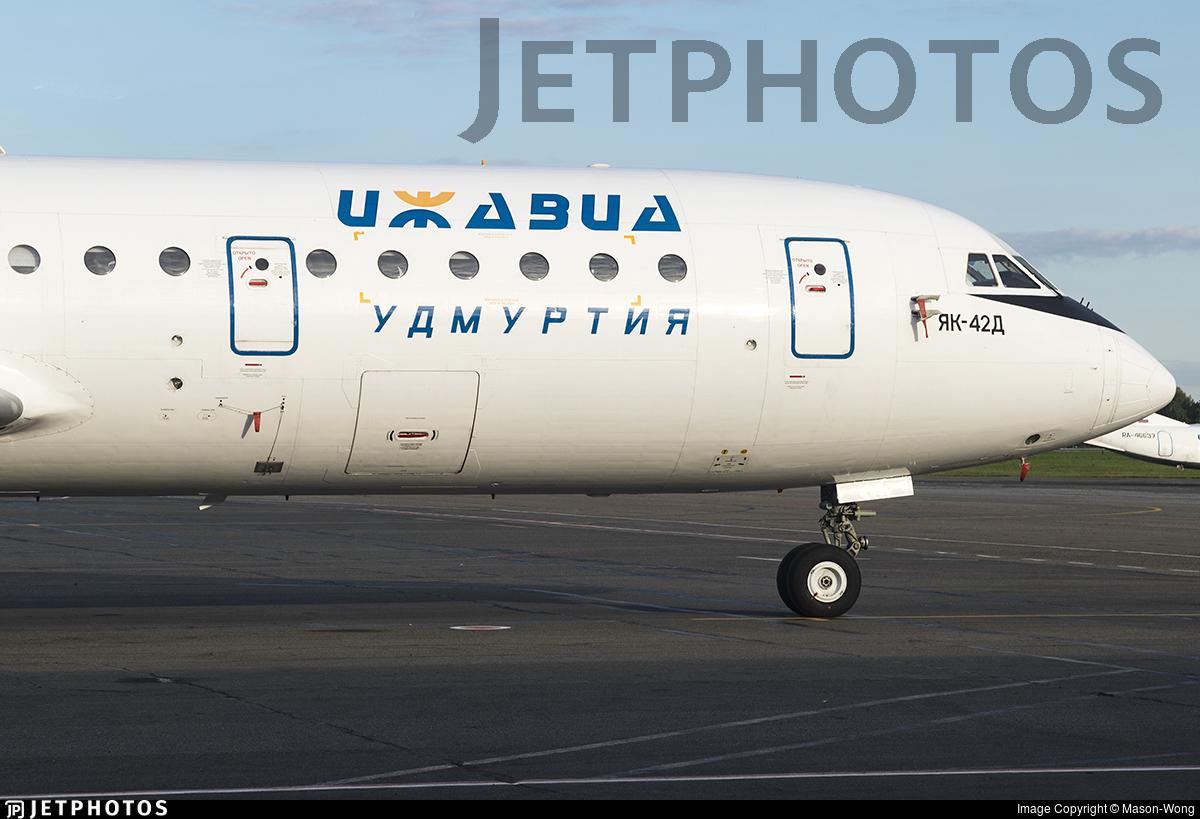 RA-42380 - Yakovlev Yak-42D - Izhavia