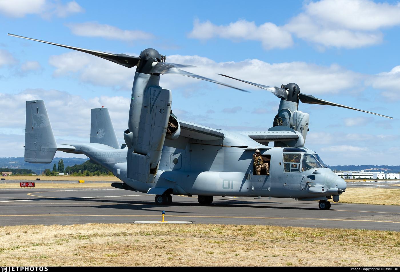 168614 - Boeing MV-22B Osprey - United States - US Marine Corps (USMC)