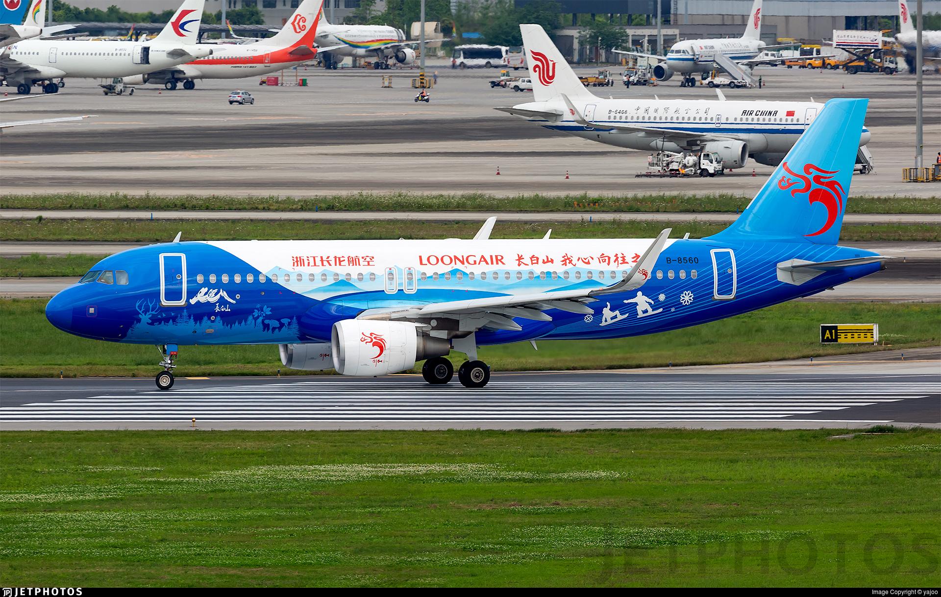 B-8560 - Airbus A320-214 - Loong Air