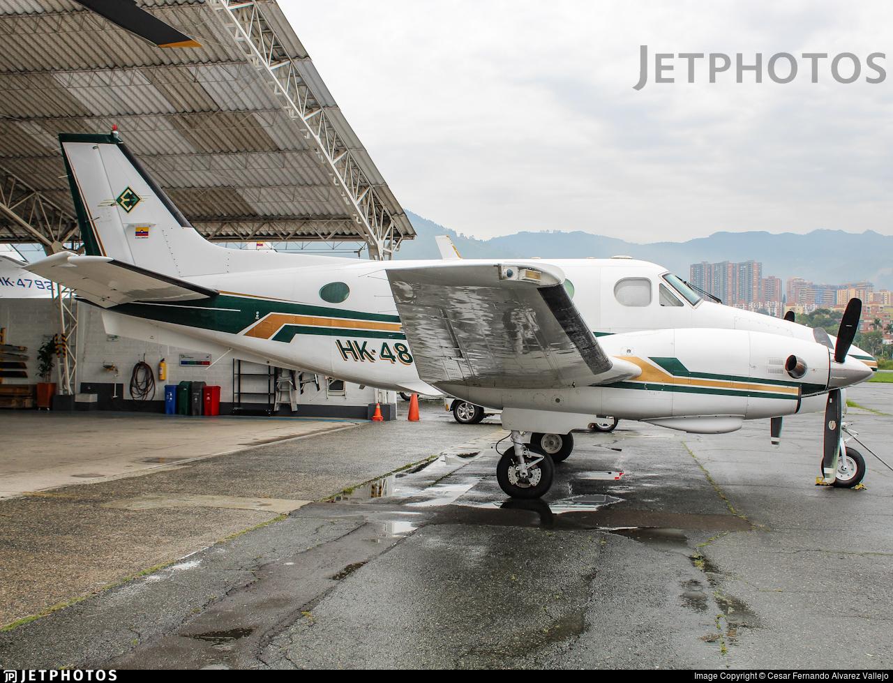 HK-4860-G - Beechcraft C90 King Air - Private
