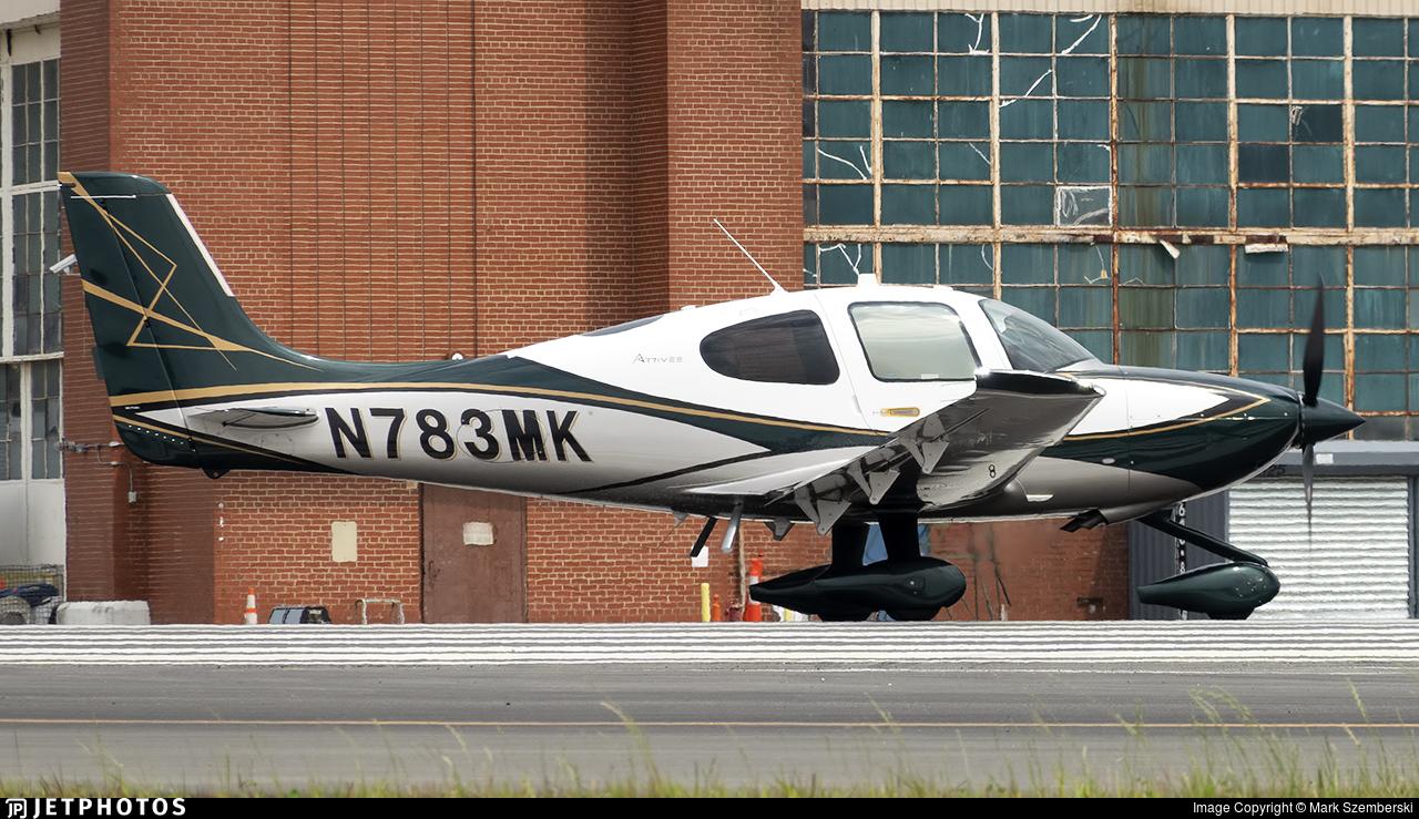 N783MK - Cirrus SR22T - Private