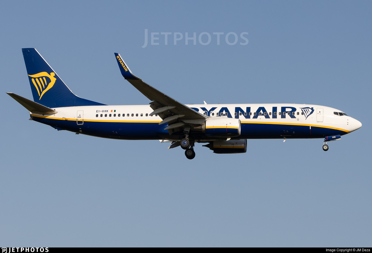 EI-GXK - Boeing 737-8AS - Ryanair