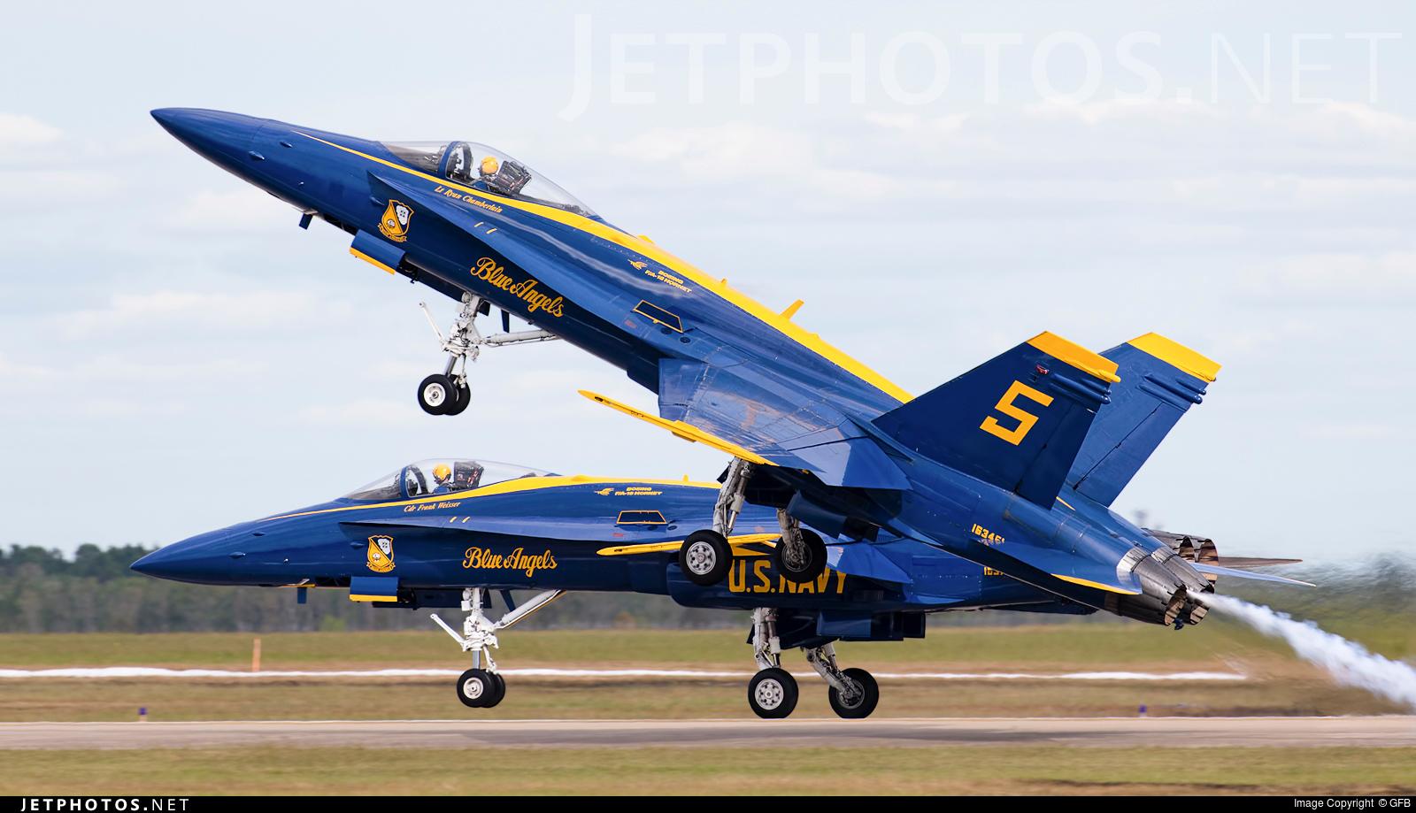 163451 - McDonnell Douglas F/A-18C Hornet - United States - US Navy (USN)