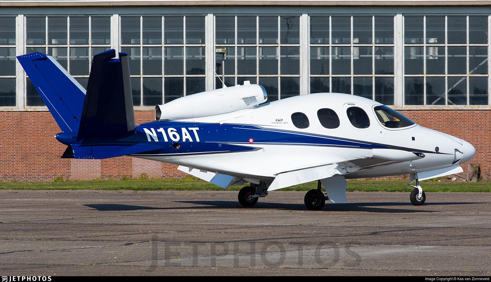 N16AT - Cirrus Vision SF50 G2 - Private
