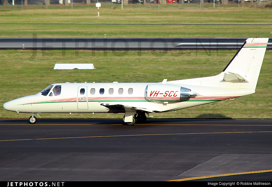 VH-SCC - Cessna 550 Citation II - Macarthur Jet Charter