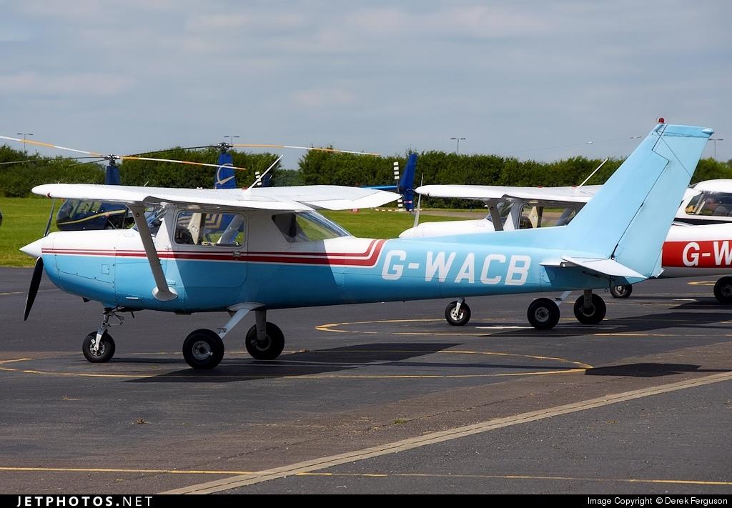 G-WACB - Reims-Cessna F152 - Private