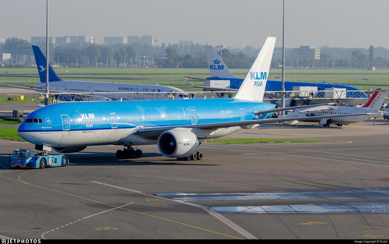 PH-BQM - Boeing 777-206(ER) - KLM Asia