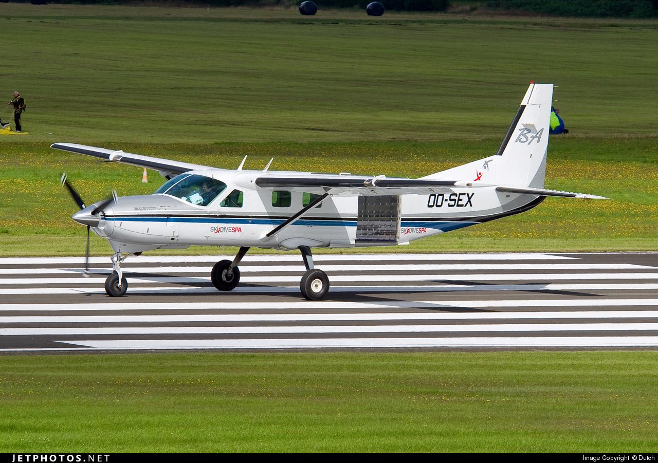 OO-SEX   Cessna 208B Grand Caravan   Private   Dutch