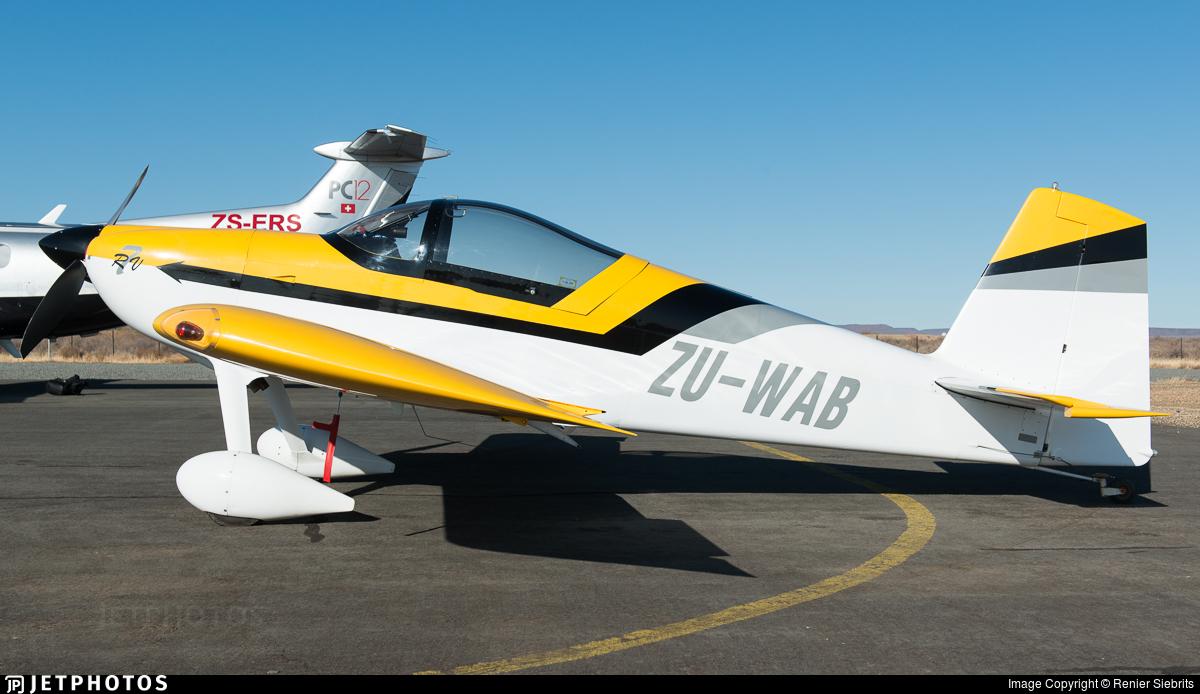 ZU-WAB - Vans RV-7 - Private