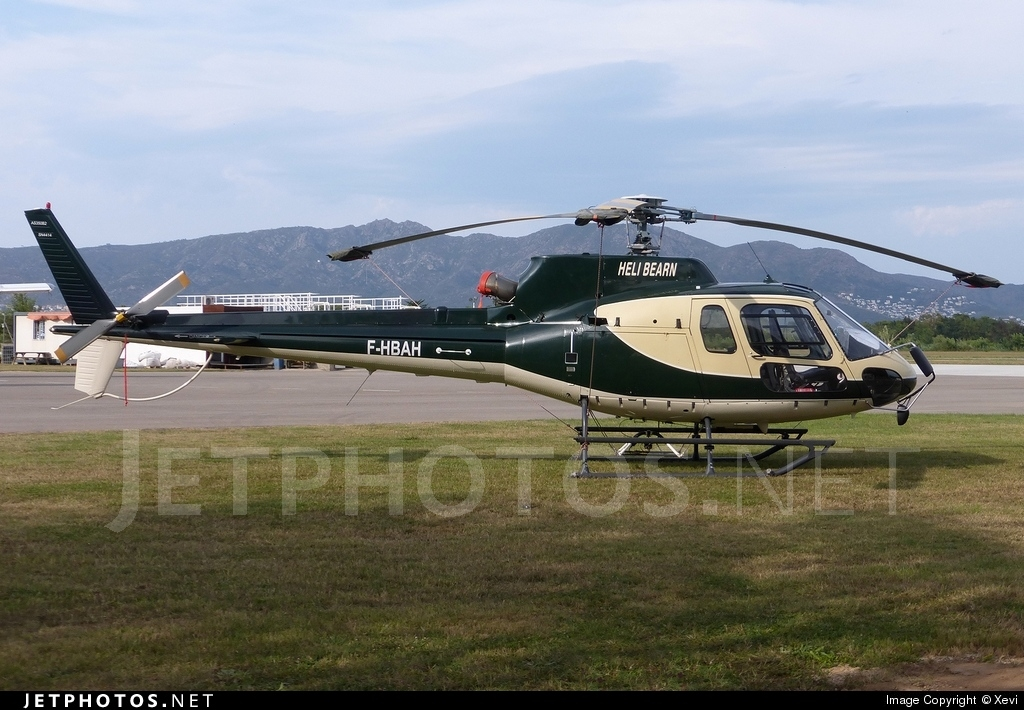 F-HBAH - Aérospatiale AS 350B2 Ecureuil - Private