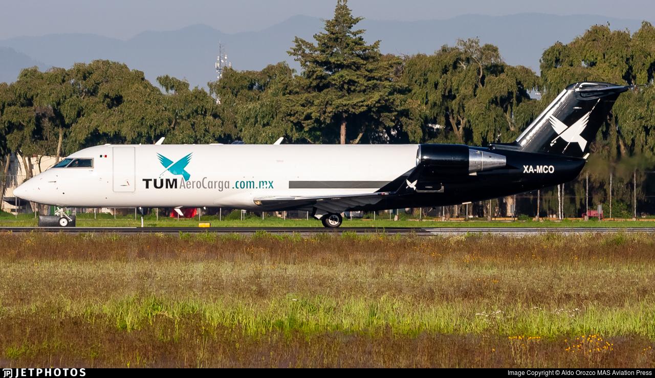 XA-MCO - Bombardier CRJ-200LR(PF) - TUM AeroCarga