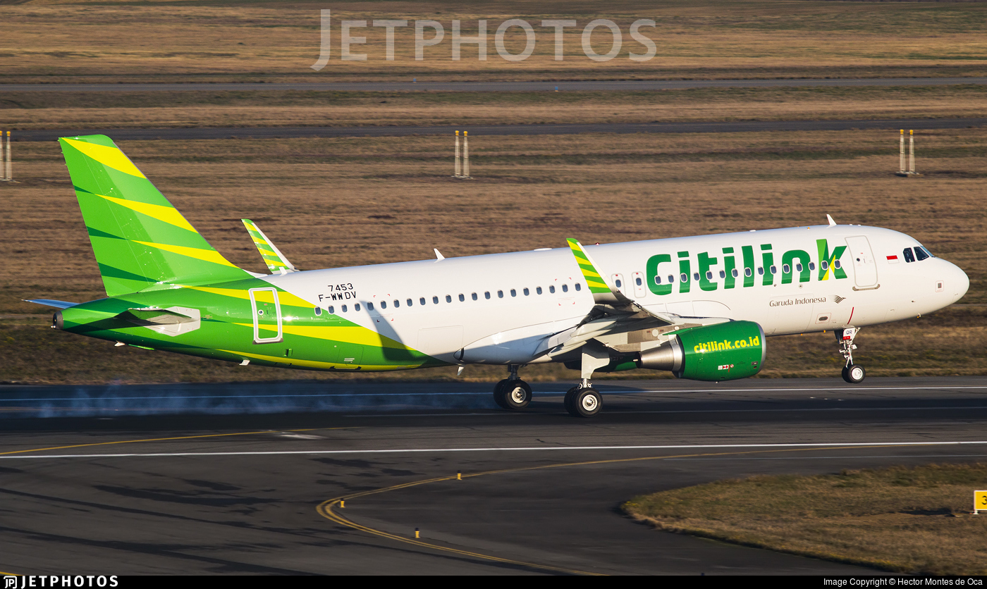 F-WWDV - Airbus A320-214 - Citilink